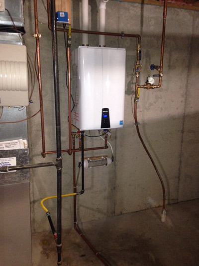 On Demand Hot Water Heater Rinnai Super High Efficiency