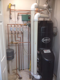 Residential high efficiency boiler/water heater