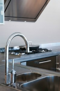 kitchen faucet troudt plumbing